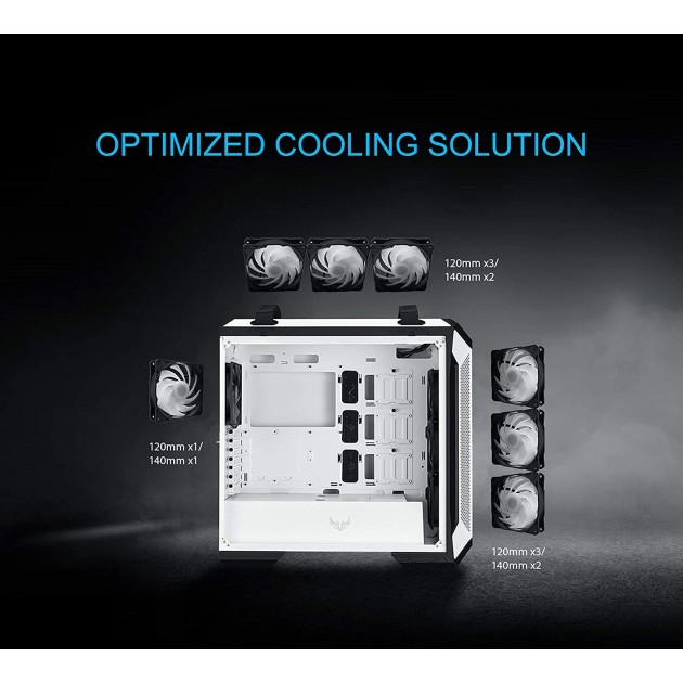 ASUS TUF Gaming GT501 White Edition Cabinet