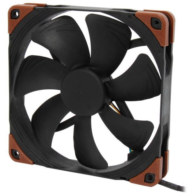 Noctua NF A14 industrialPPC-3000 PWM 140mm, AAO Frame Technology and SSO2 Bearing Fan