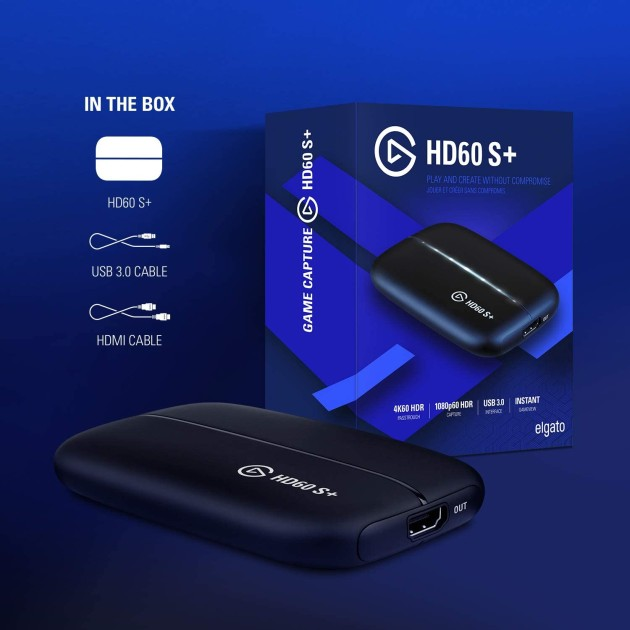 Elgato Game Capture HD60 S Plus with 4K passthrough