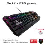 ASUS ROG Strix Scope Cherry MX RGB RED Mechanical Keyboard
