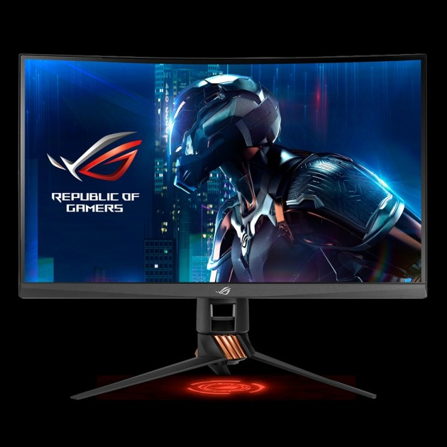 ASUS ROG Swift PG27VQ 165Hz 2K Curved Gaming Monitor
