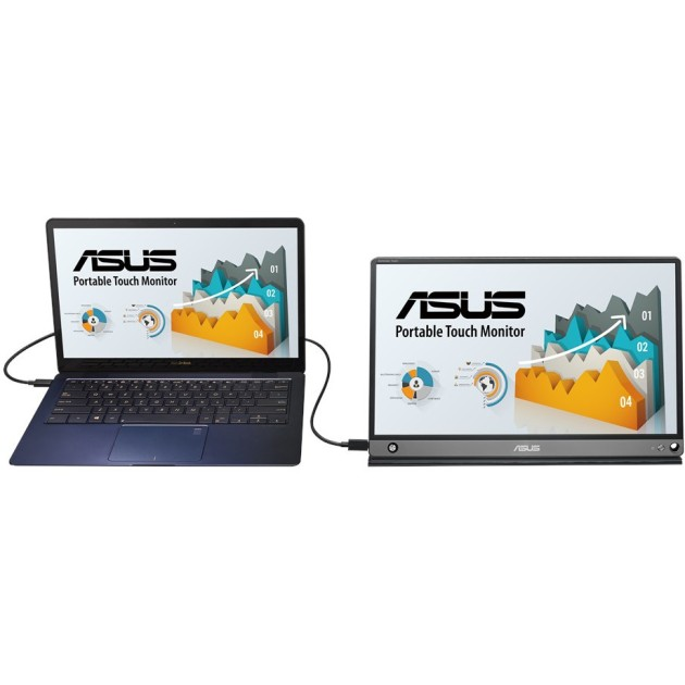 ASUS ZenScreen MB16AMT Touch 15.6-inch IPS USB portable monitor