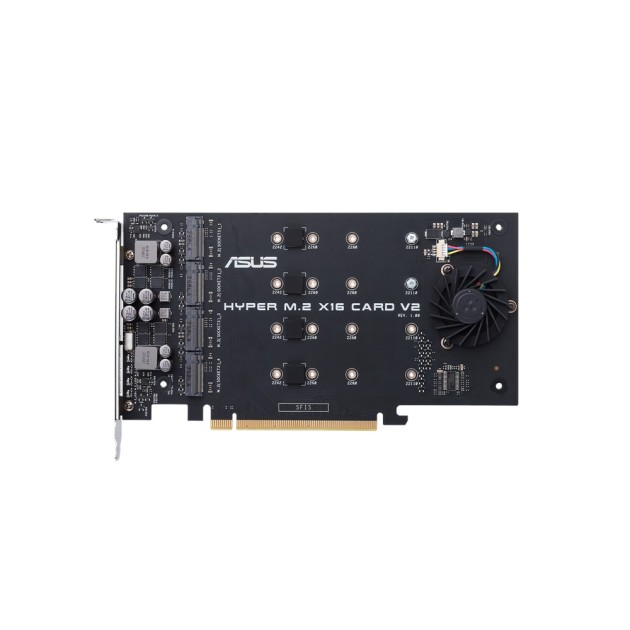 ASUS HYPER M.2 X16 CARD V2 Power-up your RAID