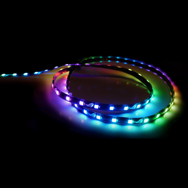 ASUS ROG Addressable LED Strip with magnetic backing and Aura Sync RGB - 60 cm