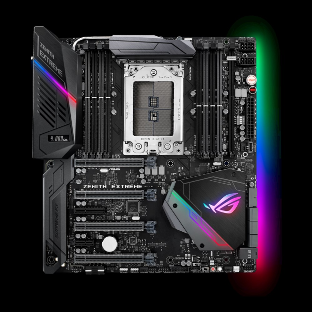 ASUS ROG ZENITH EXTREME AMD X399 EATX Gaming Motherboard
