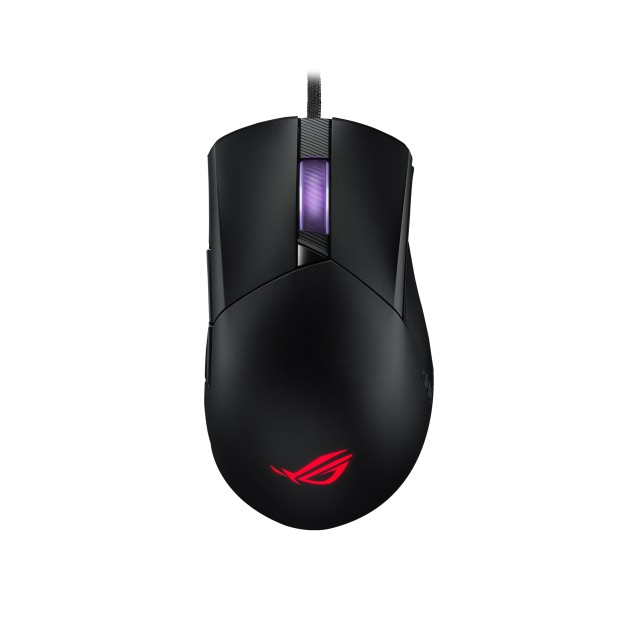 ASUS ROG Gladius III asymmetrical gaming mouse with 26,000 dpi
