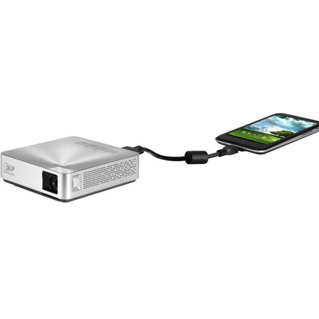 ASUS S1 SILVER 200 Lumens Portable LED Projector