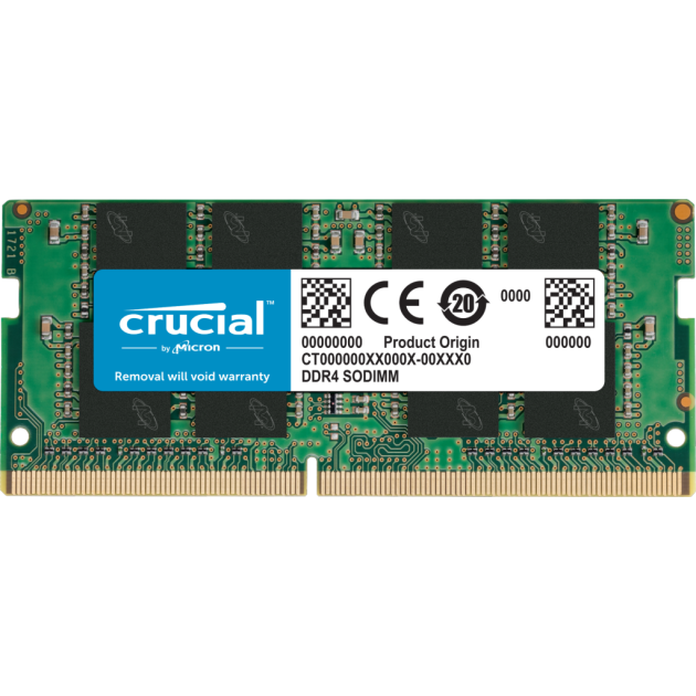 Crucial 4GB DDR4 2666MHz Laptop Memory